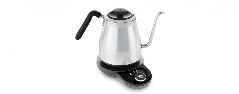 oxo adjustable temperature electric pour-over smart kettle