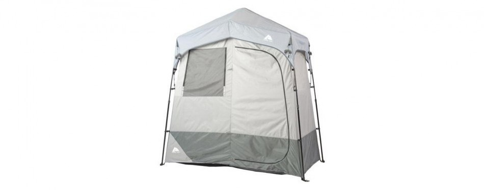 ozark trail instant 2 room outdoor changing shelter/shower