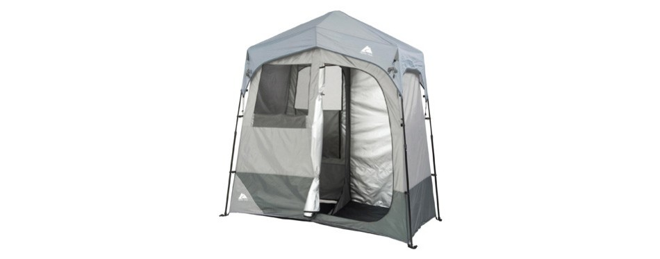 ozark trail instant 2 room outdoor changing shelter shower