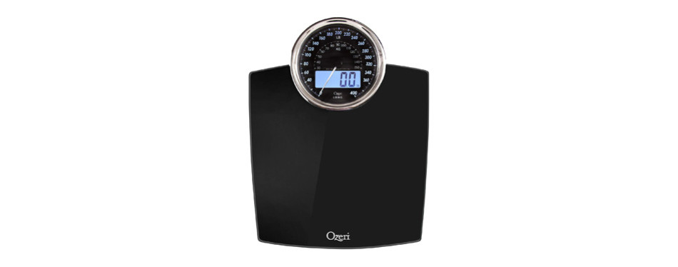 ozeri rev electro-mechanical bathroom scale