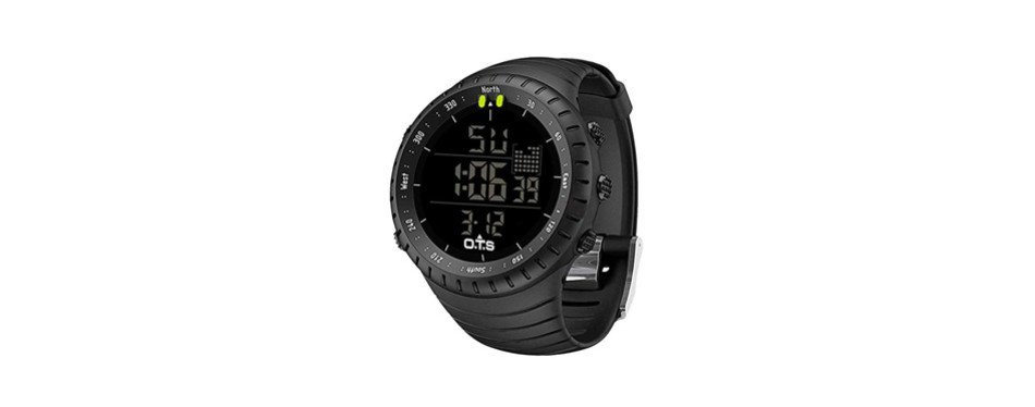palada men's digital sports watch