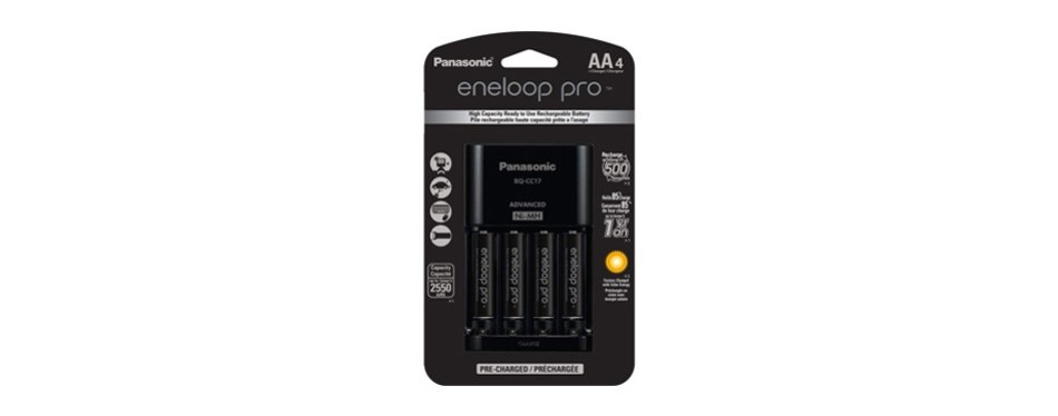 panasonic advanced individual cell battery charger pack