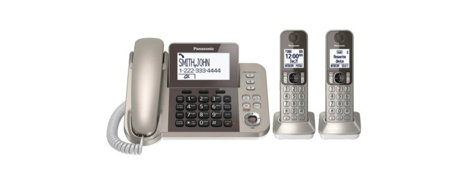 panasonic corded / cordless phone system