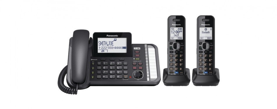 panasonic kxtg9582b link2cell telephone system