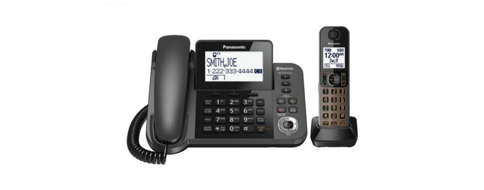 panasonic kxtgf380m handset landline telephone