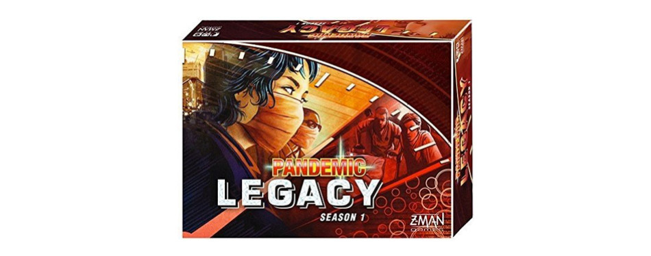 pandemic: legacy season 1 (red edition)