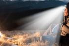 panther vision cubwb hands free led hunting headlamp