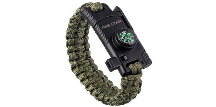 RnS Star 500lb Paracord Bracelet