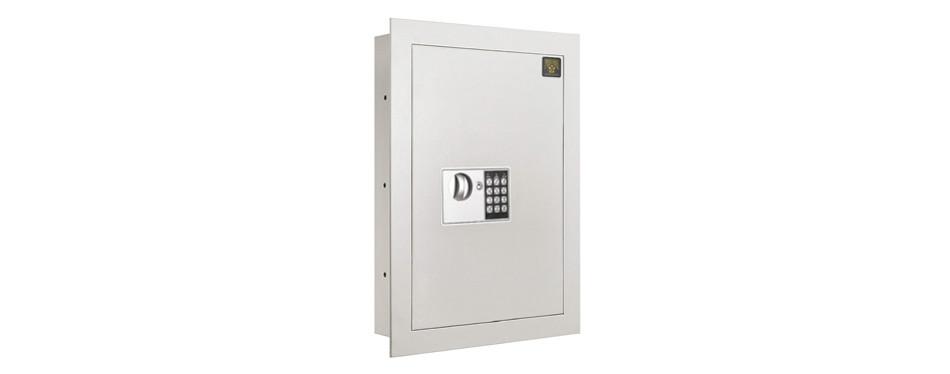 paragon flat electronic wall safe 7700