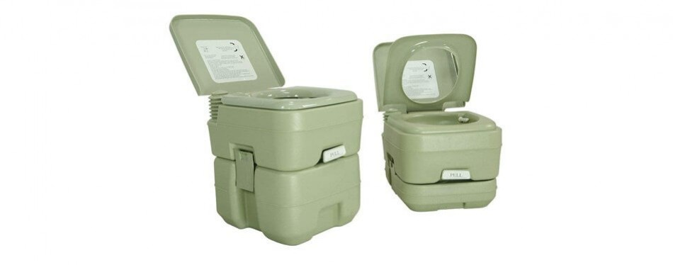 partysaving outdoor camping portable toilet