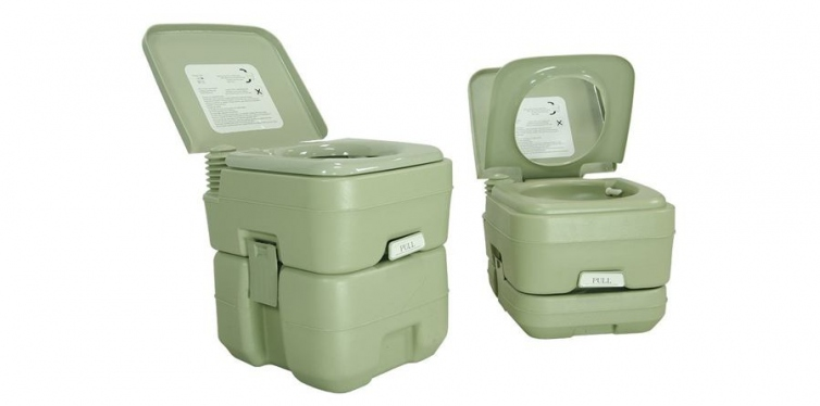 Partysaving Outdoor Camping Portable Toilet