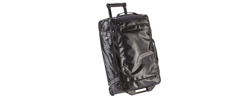 patagonia black hole wheeled rolling duffel bag