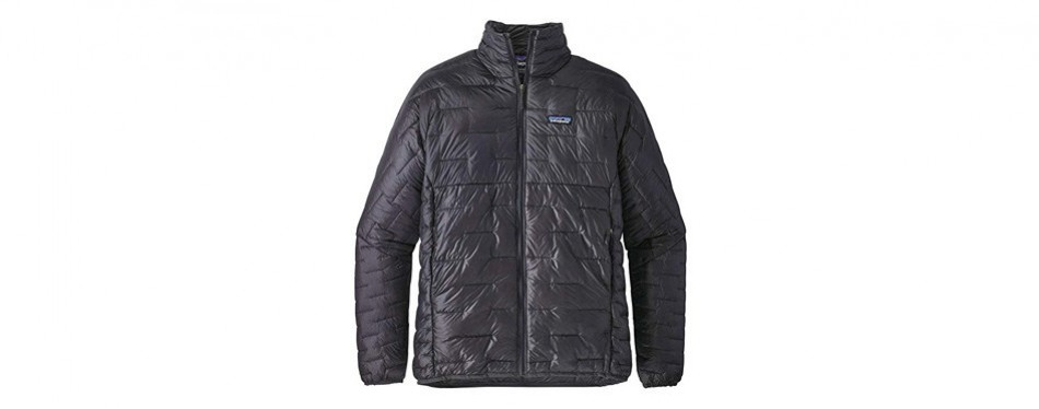 patagonia men's micro puff winter jacket forge grey