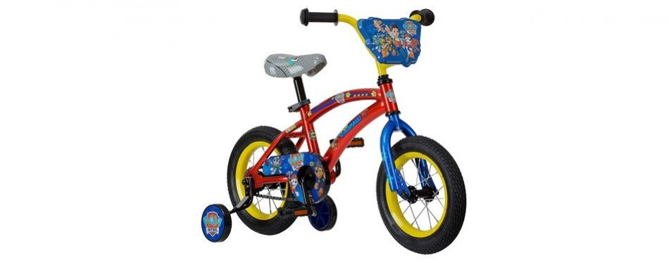 paw patrol 12 kid's bike