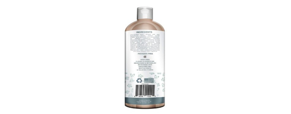 paws & pals pet wash shampoo