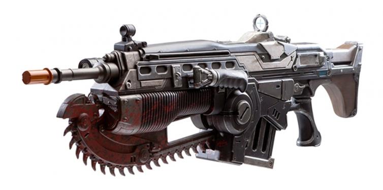 PDP Gears of War 4 Prop Replica Customized Lancer