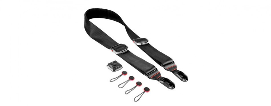peak design black slide camera strap