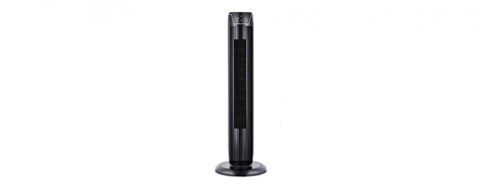 pelonis led display tower fan