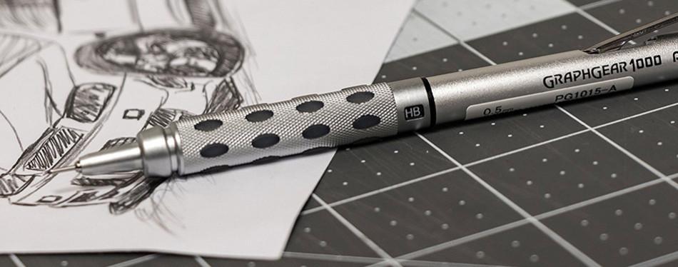 pentel graph gear 1000 automatic drafting pencil