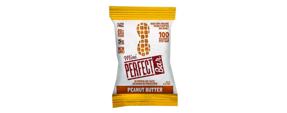 perfect bar - organic - mini - peanut butter