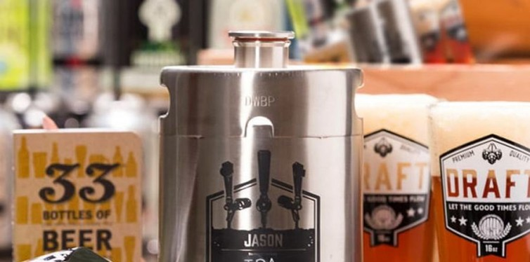 personalized growler crate