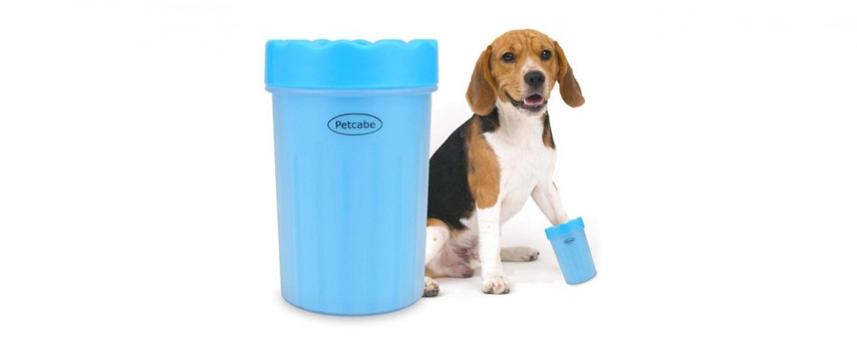 petcabe portable dog paw cleaner