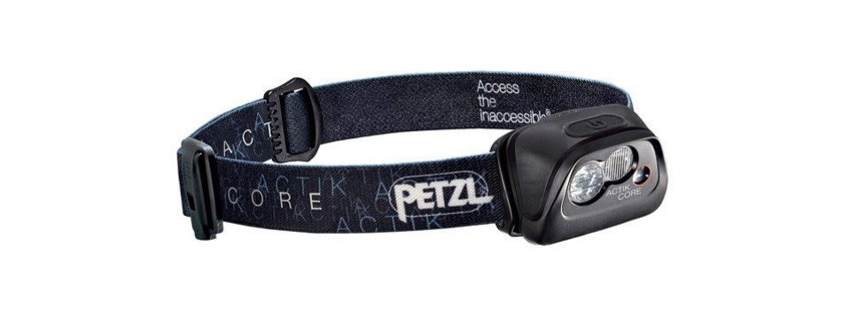 petzl actik core lumens headlamp