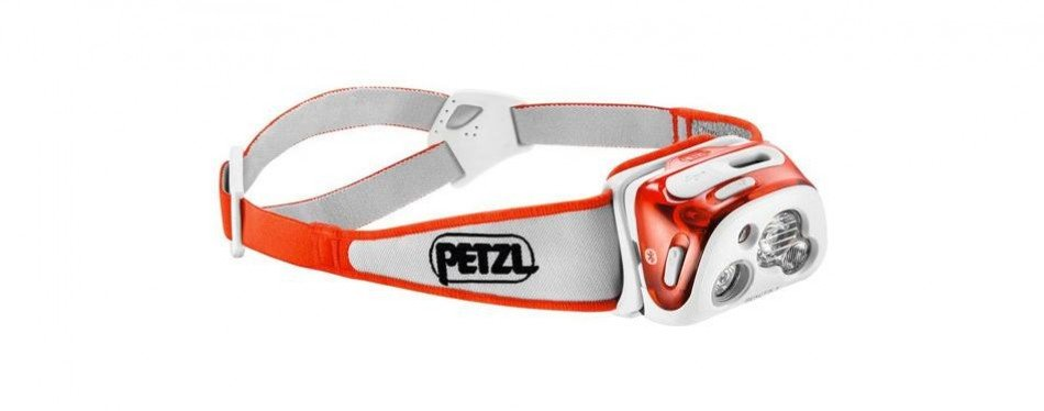 petzl - reactik+ headlamp, 300 lumens, bluetooth enabled