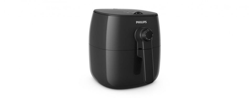 philips hd9621/99 viva turbostar frustration free airfryer (1.8lb/2.75qt)