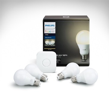 Philips Hue White Smart Bulb Kit