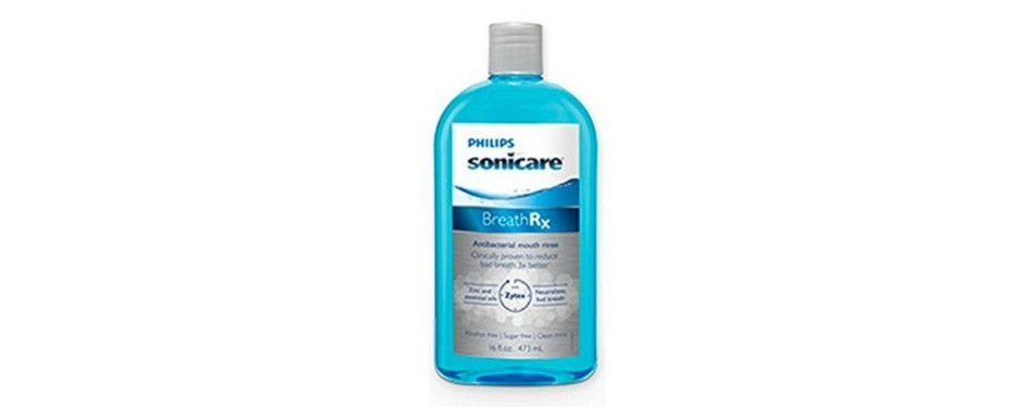 phillips sonicare breathrx anti-bacterial mouth rinse