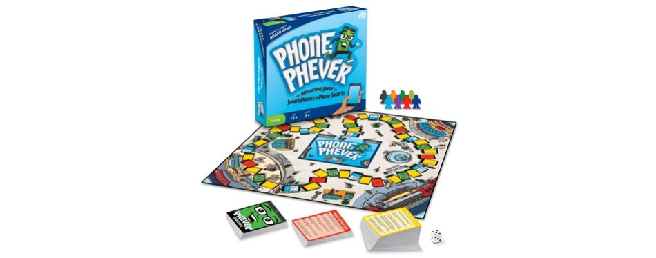phone phever trivia board game