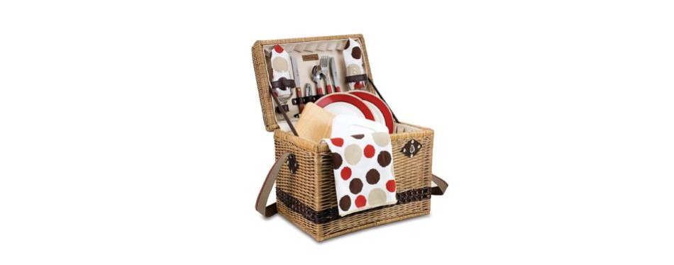 picnic time deluxe 2 person picnic basket