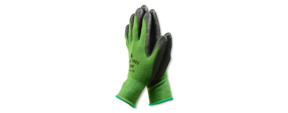 pine tree tool bamboo working gloves