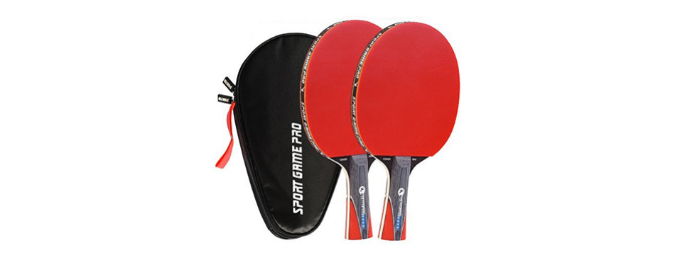 ping pong paddle jt-700 with killer spin