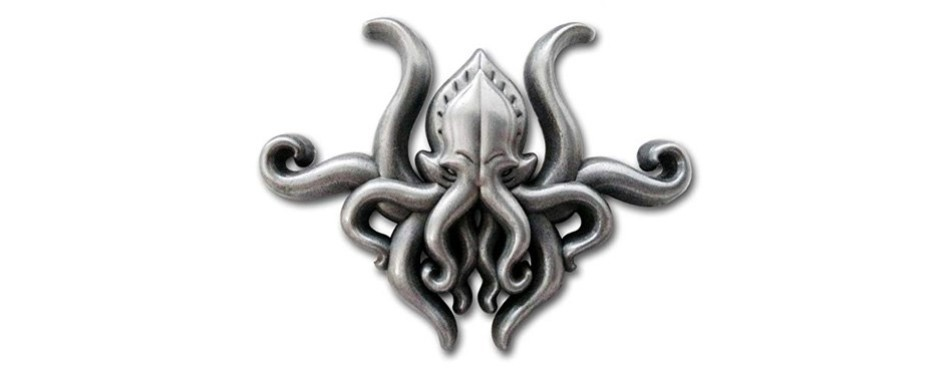 pinsanity h.p. lovecraft cthulhu lapel pin