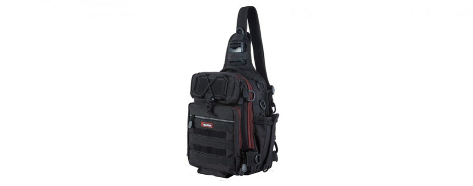 piscifun water-resistant outdoor tackle bag