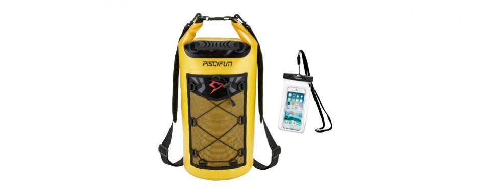 piscifun waterproof dry backpack