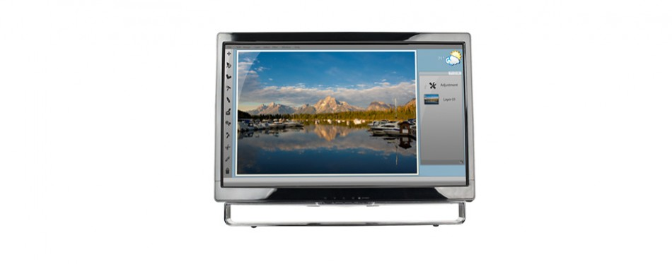 planar 22-inch touch screen lcd monitor