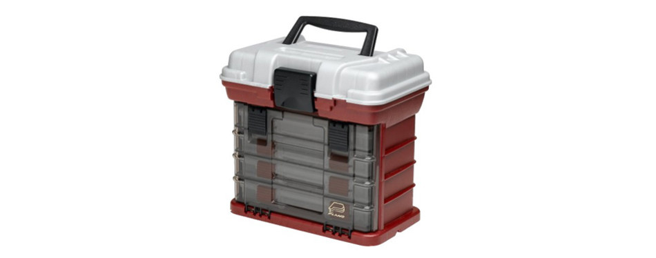 plano 4 rack system 3500 size tackle box
