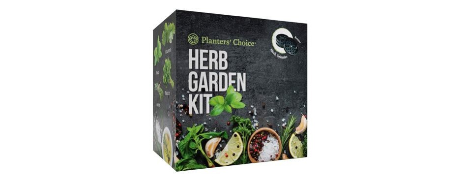 planters' choice organic herb growing kit