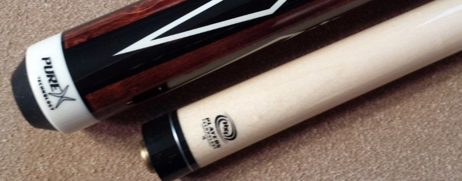 players technology series hxt15 two-piece pool cue