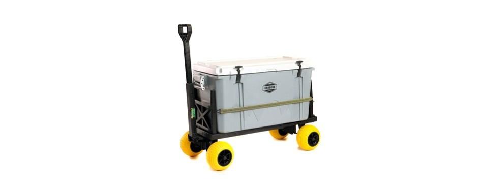plus one cart pier fishing cart