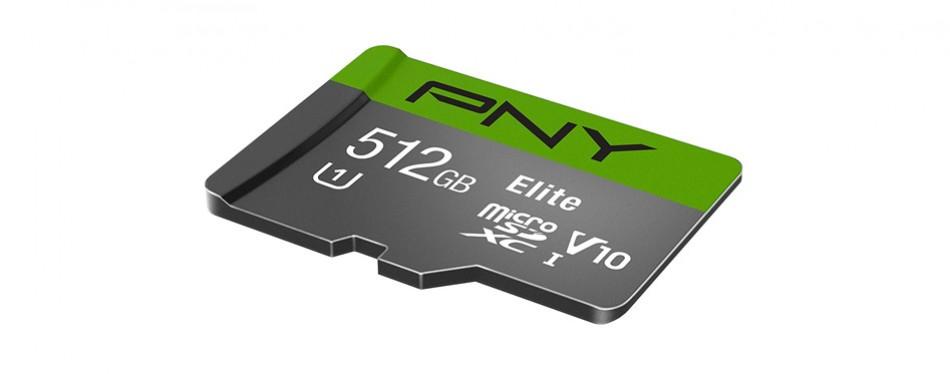 pny elite 512gb microsd card