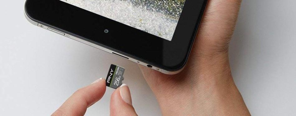 pny u3 pro elite 256 gb micro sd card drone accessories