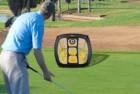 podiumax square pop up golf chipping net