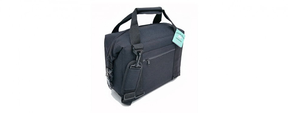 polar bear coolers nylon series soft cooler - tote and backpack sizes