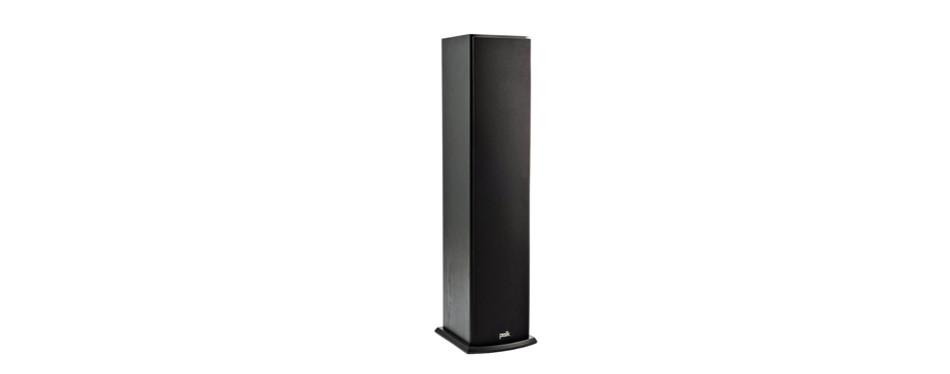 polk t50 150 watt home theatre floor standing tower speaker