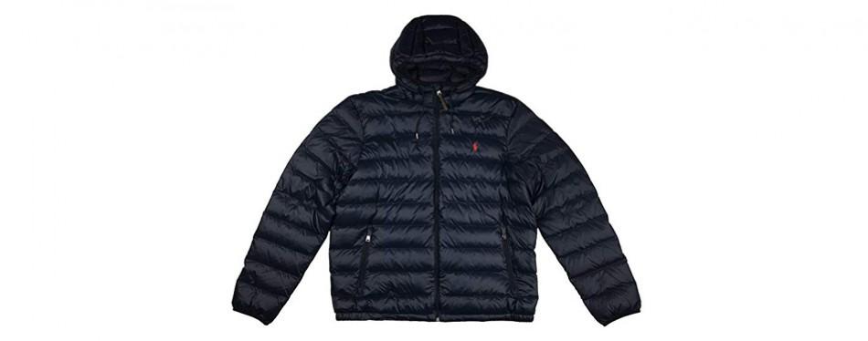 polo ralph lauren men's hooded down winter jacket