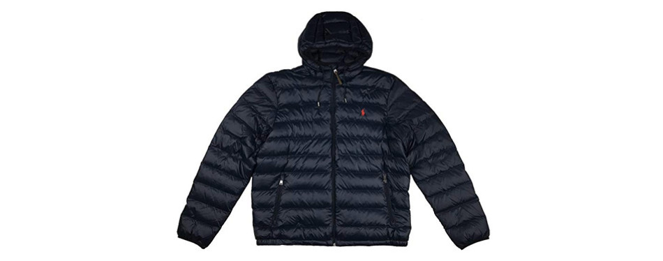 polo ralph lauren men's hooded down winter jacket